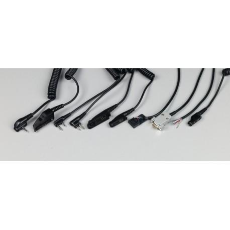 Stilo Radio Wiring Connection Cable for Motorola GP3 100, 2x jack YD0205
